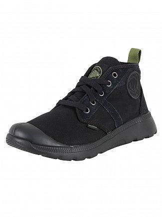 Palladium Black/Cedar Green Pallaville HI CMS Boots