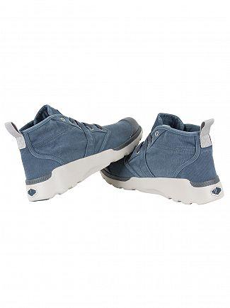 Palladium Dark Slate/Windchime Pallaville HI CVS Boots