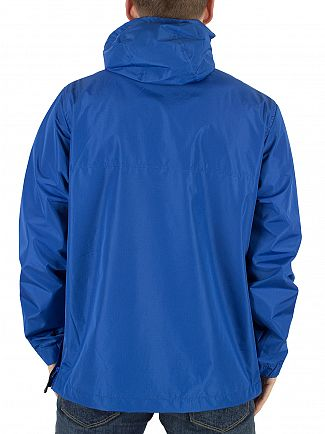 Franklin & Marshall Olympic Blue Logo Zip Front Pocket Jacket