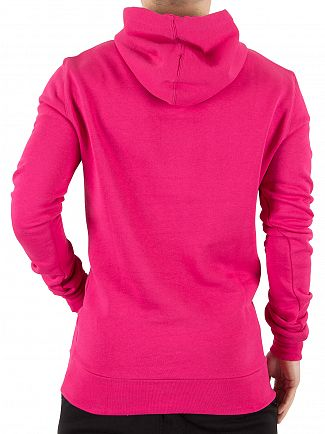 11 Degrees Berry Core Pull Over Logo Hoodie