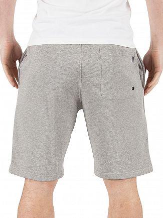 Calvin Klein Grey Heather Terry Marled Logo Pyjama Shorts