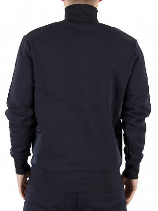 Ellesse Midnight Navy Italia Bertini Funnel Zip Sweatshirt