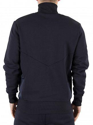 Ellesse Midnight Navy Italia Bertini Funnel Zip Sweatshirt
