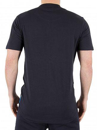 Ellesse Midnight Navy Italia Pescara Logo T-Shirt
