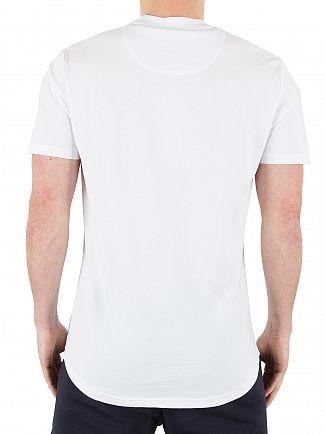 Ellesse White Italia Pescara Logo T-Shirt