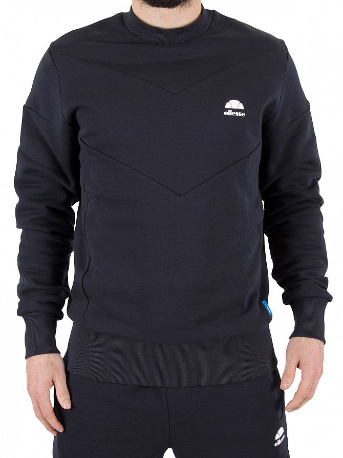 Ellesse Midnight Navy Vieri Logo Sweatshirt