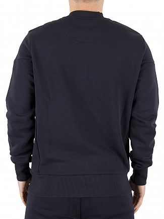 Ellesse Midnight Navy Vieri Logo Sweatshirt