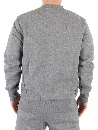 Ellesse Grey Marl Vieri Marled Logo Sweatshirt