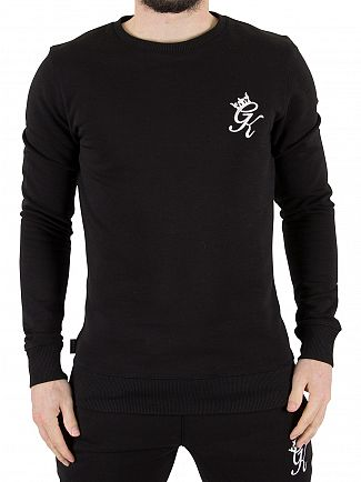 Gym King Black Logo Jumper Sweatshirt
