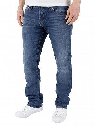 Tommy Hilfiger Denim True Mid Blue Slim Scanton Dytmst Dynamic Stretch Jeans