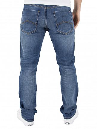 Tommy Hilfiger Denim True Mid Blue Slim Scanton Dytmst Dynamic Stretch Jeans