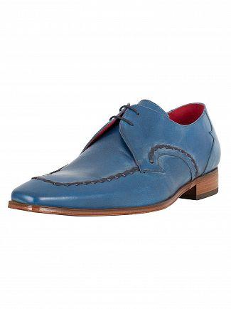 Jeffery West Tequila Jeans/Para Tir Dark Blue Scarface Leather Shoes