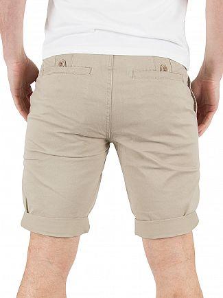 Minimum Khaki Frede Chino Shorts