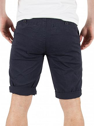 Minimum Dark Navy Frede Chino Shorts