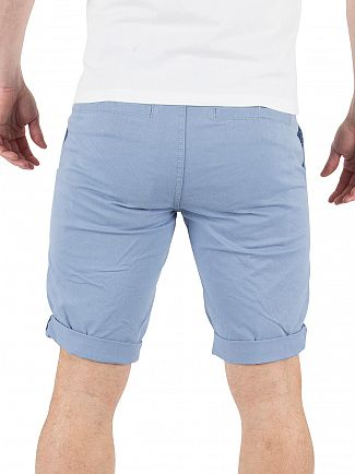 Minimum Faded Denim Frede Chino Shorts