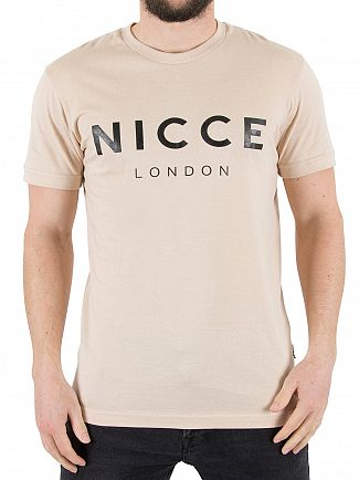 Nicce London Stone Graphic Logo T-Shirt