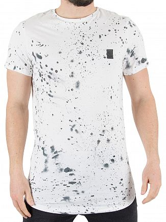 Religion White Spirit Speckle T-Shirt