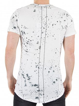 Religion White Spirit Speckle T-Shirt