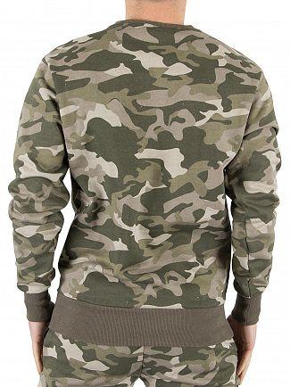 Ellesse Camo Diveria Logo Sweatshirt