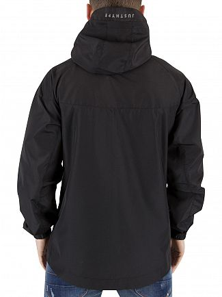 Hype Black Runner Logo Zip Jacket