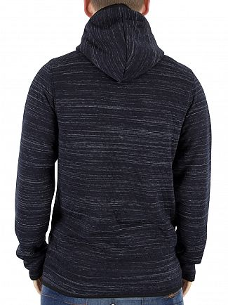 Jack & Jones Sky Captain Carbon Marled Logo Hoodie