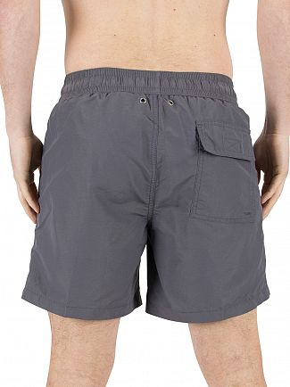 Polo Ralph Lauren Combat Grey Hawaiian Logo Swimshorts