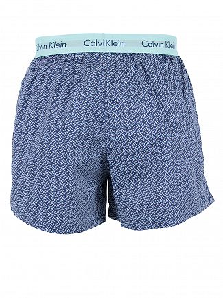 Calvin Klein Airforce Slim Fit Sticks Print Woven Trunks