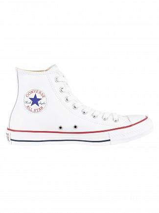 Converse White Chuck Taylor All Star Hi Trainers