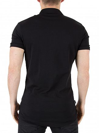 Gym King Black Jersey Logo Shirt