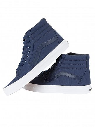 Vans Dress Blue SK8-HI Mono Canvas Trainers