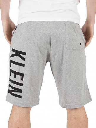 Calvin Klein Grey Heather Jersey Logo Shorts