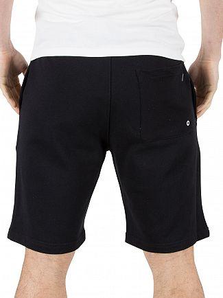 Calvin Klein Black Terry Logo Jersey Shorts