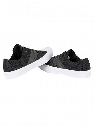 Converse Black/White/Gum CTAS II Mesh OX Trainers