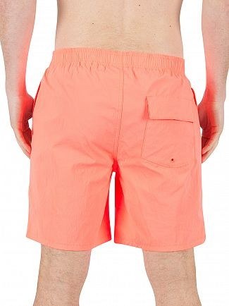 Converse Hyper Orange Quickdry Logo Swimshorts