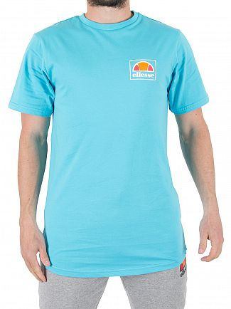 Ellesse Blue Atoll Emeroni Chest Logo T-shirt