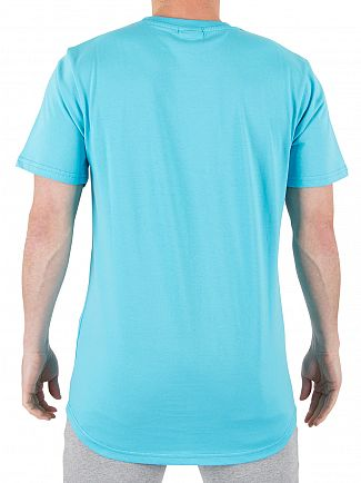Ellesse Blue Atoll Emeroni Chest Logo T-shirt
