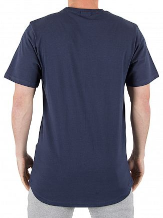 Ellesse Dress Blue Emeroni Chest Logo T-shirt