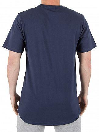 Ellesse Dress Blue Emeroni Chest Logo T-shirt