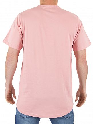 Ellesse Soft Pink Emeroni Chest Logo T-shirt