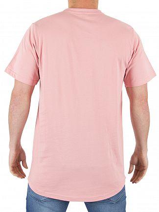 Ellesse Soft Pink Emeroni Chest Logo T-shirt