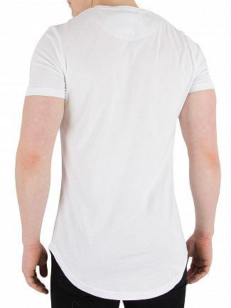 Kings Will Dream White Travis Logo T-Shirt