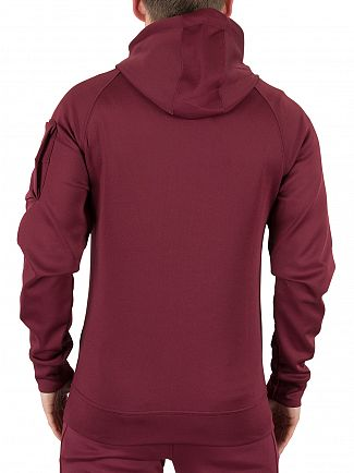 Kings Will Dream Burgundy Zone Logo Hoodie
