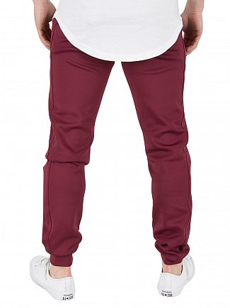 Kings Will Dream Burgundy Zone Poly Logo Joggers