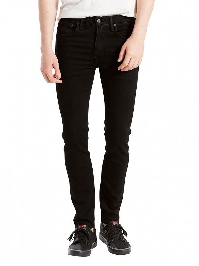 Levi's Black 519 Rooftop Extreme Skinny Fit Jeans