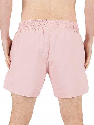 Sik Silk Pastel Pink Standard Logo Swimshorts