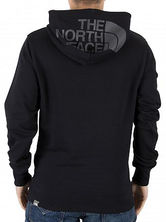 The North Face Black Chest Logo Hoodie