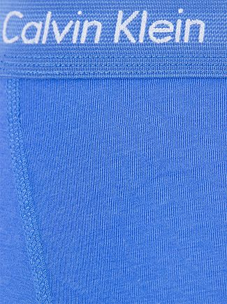 Calvin Klein Green/Navy/Blue 3 Pack Cotton Stretch Trunks