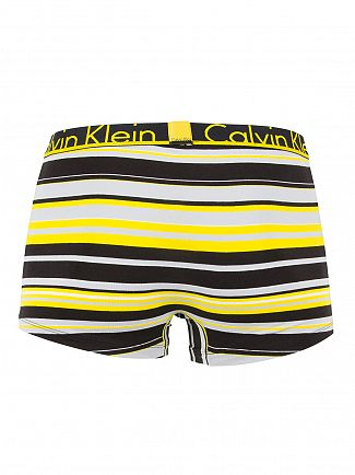 Calvin Klein Black ID Lucas Stripe Logo Trunks