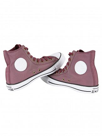 Converse Deep Bordeaux/White/Black CTAS HI Trainers
