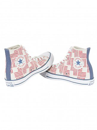 Converse Buff/Casino/Blue Coast CTAS HI Trainers